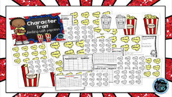 Character Trait Sorting Centers with Popcorn