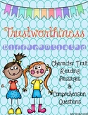 Character Traits: Trustworthiness Differentiated Reading Passages