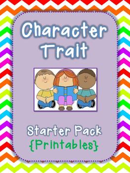 Character Trait Starter Pack