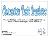 Character Trait Trackers
