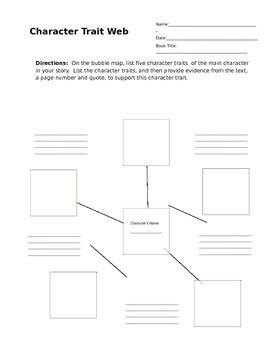Character Trait Web