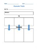 Character Trait Worksheet