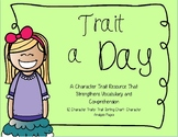 Character Trait a Day for Upper Grades