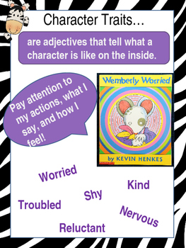 Character Trait anchor chart