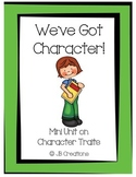 Character Trait mini unit (3rd-5th grade)