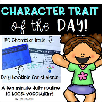 Character Trait of the Day