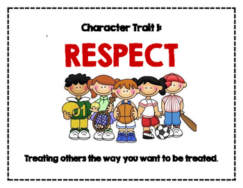 Character Trait of the Month Posters