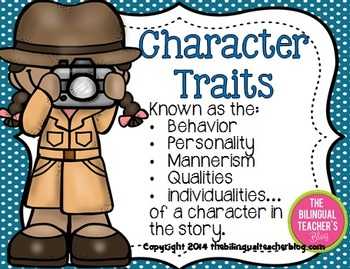 CHARACTER TRAITS IN ENGLISH