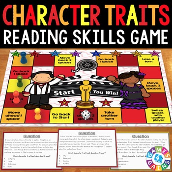 Character Traits Activity: Identifying Character Traits Re