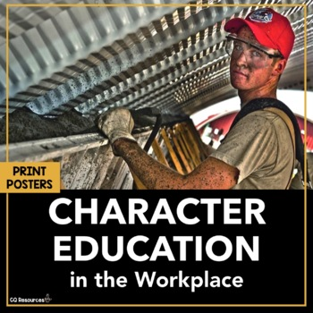 Character Education for Career Readiness and Life Skills