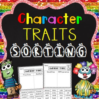 Character Traits Sorting