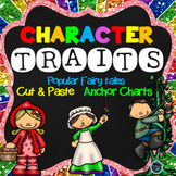 Character Trait Activities Fairy Tale Theme (NO PREP)