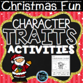 Christmas Character Traits Activities