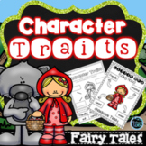 Character Traits Bundle | Fairy Tales Activities | Distanc