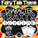 Fairy Tale Character Trait Sorting Activities (No Prep)