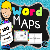 Character Trait Graphic Organizers or Word Maps