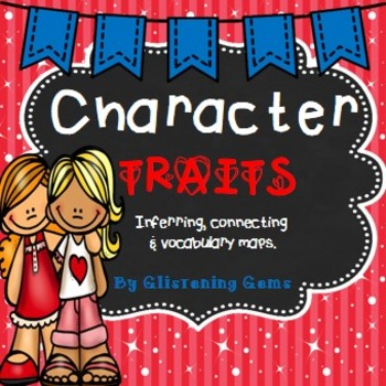 Character Trait Task cards, Vocabulary Maps and Writing