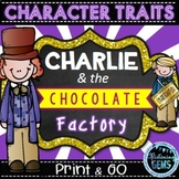 Charlie and the Chocolate Factory - Character Trait Activi