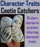 Character Traits Passages Activity for 3rd, 4th, 5th, 6th Grade