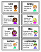 Character Traits Visuals & Activities