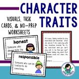 Character Traits Visuals & Activities