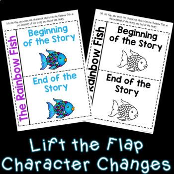 The Rainbow Fish Character Trait Activities (NO PREP)