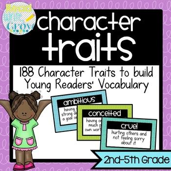 Character Traits Vocabulary