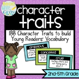 Character Traits Vocabulary