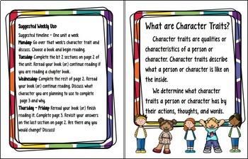 Character Traits - 40 Week BUNDLE!