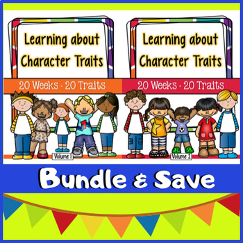 Character Traits - 40 Week BUNDLE!