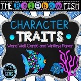 The Rainbow Fish Character Traits Writing Activities