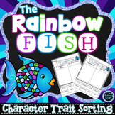The Rainbow Fish Character Traits Sorting (No Prep)