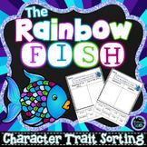The Rainbow Fish Character Traits Sorting (No Prep)