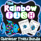 The Rainbow Fish Character Traits Bundle   First Day of School Activities