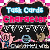 Charlotte's Web Activities |  Character Trait Task Cards