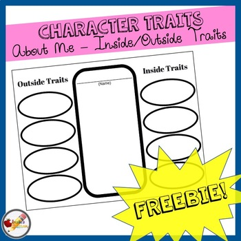 {FREE} Character Traits: About Me - Inside/Outside Traits