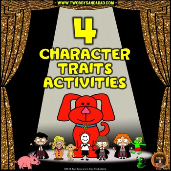 Character Traits Analysis With Four Activities
