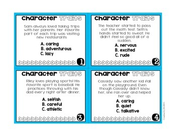 #christmasinjuly Character Traits Activity Pack