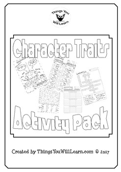 Character Traits Activity Pack