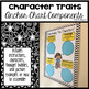 Character Traits Anchor Chart Components