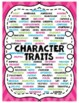Character Traits Anchor Chart/Posters