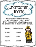 Character Traits Anchor Chart or Poster