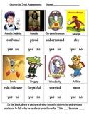 Character Traits Assessment (based on popular children's books)