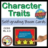 Character Traits BOOM Cards - 24 Self-checking Digital Task Cards!