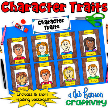 Character Traits BUNDLE of Activities