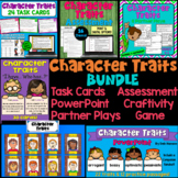 Character Traits BUNDLE of Activities with Many Digital Options