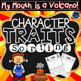 Back to School Book Companions | Character Traits Activities