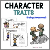 Character Traits Poster and Clip Chart Set
