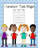 Character Traits Bingo