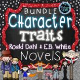 Character Trait Activities- Book Companions Bundle for Novels